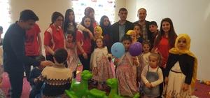 Nene Hatun Kız Yetiştirme Yurdu ve çocuk yuvası çocuklarının 23 Nisan heyecanı