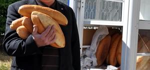 Finike ve Kumluca'da ekmek zamlandı