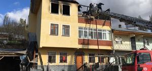 Sivas'ta ev yangını: 1 ölü
