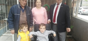 Engelli minik Oğuzhan'a bayram hediyesi