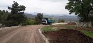 Alifakı Mahallesinde asfalt hazırlığı