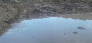 Çatlıca'nın göleti de temizlendi