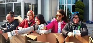 İzmit Belediyesi 4 bin paket simit dağıttı
