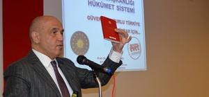 Ilıcalı referandum sürecinde Erzurum'u adım adım gezip yeni anayasayı anlattı