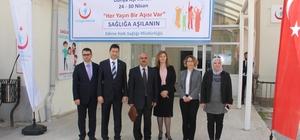 Edirne'de Aşı Haftası etkinlikleri