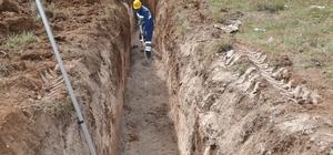 11 mahallenin kanalizasyon altyapısı yenilendi
