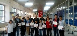 23 Nisan Ulusal Egemenlik ve Çocuk Bayramı satranç turnuvası yapıldı
