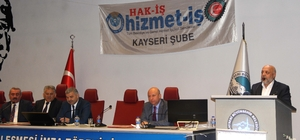 HAK-İŞ Genel Başkanı Arslan:
