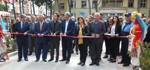 Burhaniye'de Şehit Turhan Bayraktar Parkı törenle açıldı