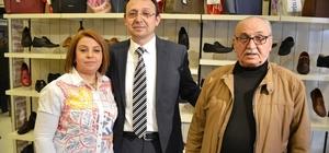 KOSGEB desteğiyle ayakkabı mağazası açtı
