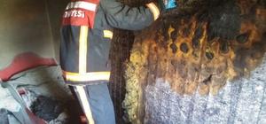 Siirt'te ev yangını