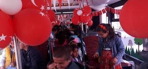 MOTAŞ'tan çocuklara 23 Nisan hediyesi