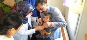 """Halk Sağlığı Müdürü Dr.Ömer Faruk Özyurt, """"""""Erişkinler de aşılanma konusunda bir hekime danışmalı"""""""