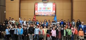 Çocuk Meclisi'nde 23 Nisan özel oturumu
