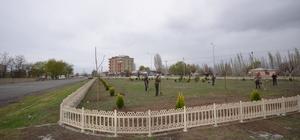 Iğdır'da Parklar yenilenip modern konuma getiriliyor