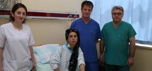 Koltuk altından kalp deliği ameliyatı