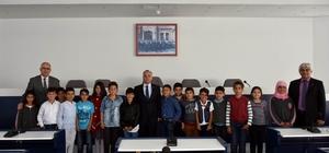 Başkan Kayda'dan öğrencilere yerel yönetimler dersi