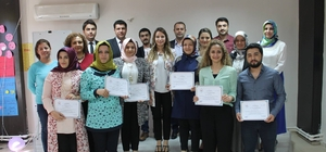 Üreme Sağlığı Eğitimi alanlara sertifikaları verildi