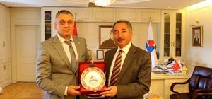 Türkiye Sualtı sporları Federasyon Başkanı AİÇÜ'de