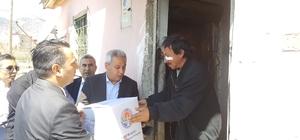 Pozantı'da dar gelirli vatandaşlara 150 koli yiyecek dağıtıldı