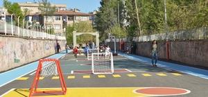 Diyarbakır'da çocuklar için oyun sokağı oluşturuldu
