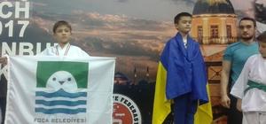 Minik karateci Bulgaristan yolcusu