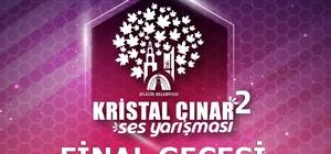 2'inci Kristal Çınar Ses Yarışması ile en iyi sesler seçilecek