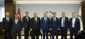 OSB yönetiminden Başkan Çelik'e ziyaret