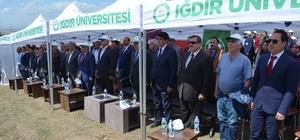 Iğdır Üniveristesi Suveren kampüsü ağaçlandırılıyor