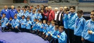 Minik boksörler Başkent'te prova yaptı