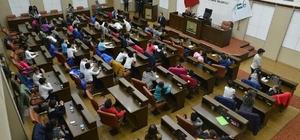 Öğrencilerden Başkan Ataç'a ziyaret