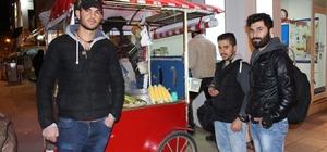 Soğuk havalar sonrası Eskişehir geceleri yeniden canlandı