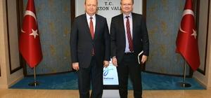 AB Türkiye Delegasyonu Başkanı Berger Trabzon'da