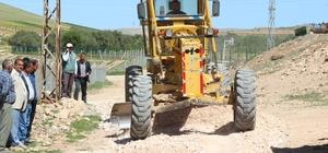 Haliliye'den Göktepe ve Sefalı mahallelerinde yol çalışması