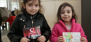 Çocuklardan Ata'ya sevgi dolu mesaj
