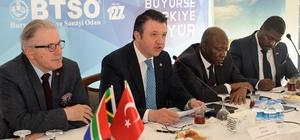 """""""Güney Afrikalı yatırımcı Türkiye'ye güveniyor"""""""