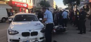 Kozan'da trafik kazası: 2 yaralı