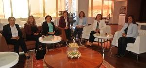 CHP il kadın kollarından Başkan Çerçioğlu'na ziyaret