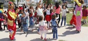 Akdeniz'de 23 Nisan coşkusu sürüyor