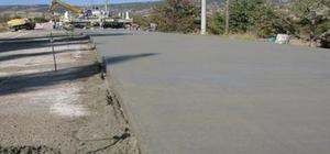 Melikgazi'ye beton yollar geliyor