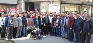 AK Parti İl Başkanı Hasan Demiraslan, körfez ilçelerine çıkarma yaptı