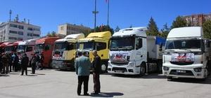 Yozgat'tan Haleplilere yardım