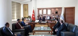 MHP il yönetiminden Başkan Çakır'a ziyaret