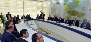 Orman ve Su İşleri Bakanlığı Müsteşarı Cemal Nogay yatırımlar hakkında bilgi aldı