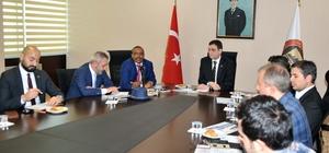 Etiyopyalı diplomatlar Gaziantepli sanayicilerle buluştu