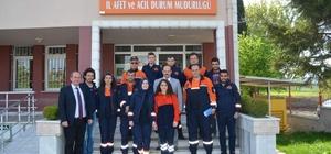 Mahalle Afet Gönüllüleri AFAD'dan bilgi aldı