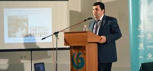 """Kırklareli Üniversitesi Öğretim Üyesi Karakuş, Makedonya'da """"Yahya Kemal Beyatlı"""" konulu konferans verdi"""