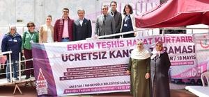 Beyoğlu'nda ücretsiz kanser taraması başladı