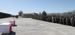 Şırnak'ta şehitler için tören