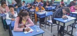 Reşadiye'de TEOG sınavı başladı